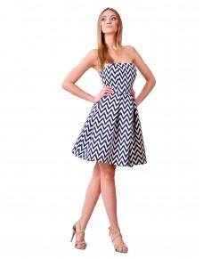 Ewa sukienka dwukolorowa