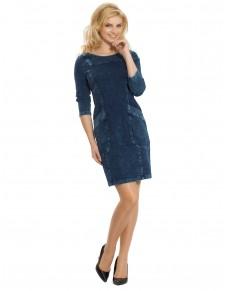 Sukienka jeansowa z kieszeniami 565/15