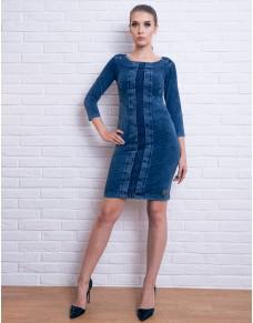 Dżinsowa sukienka z kieszeniami, na różne okazje